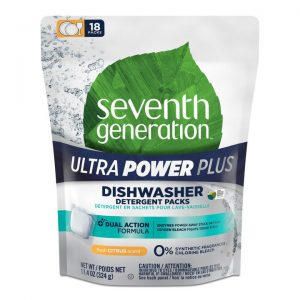Seventh Generation Ultra Power Plus Dishwasher Detergent Packs