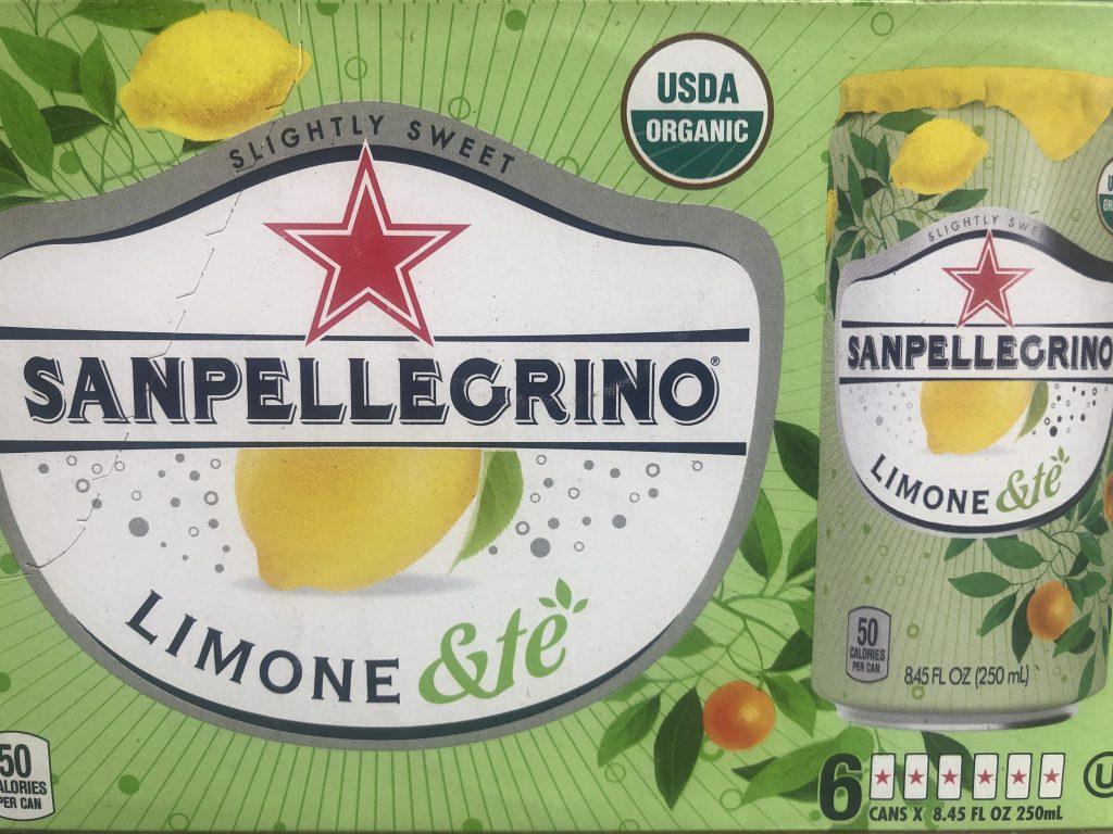 San Pellegrino Limone & te