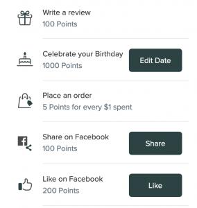 Puracy rewards program