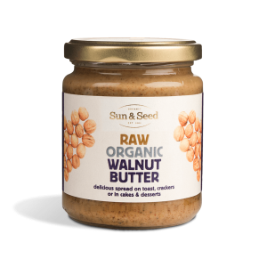 Sun & Seed Raw Organic Walnut Butter