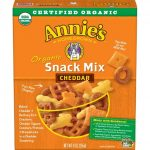 Annie's Homegrown Organic Snack Mix Bunnies Cheddar, 9 oz, for $2.00