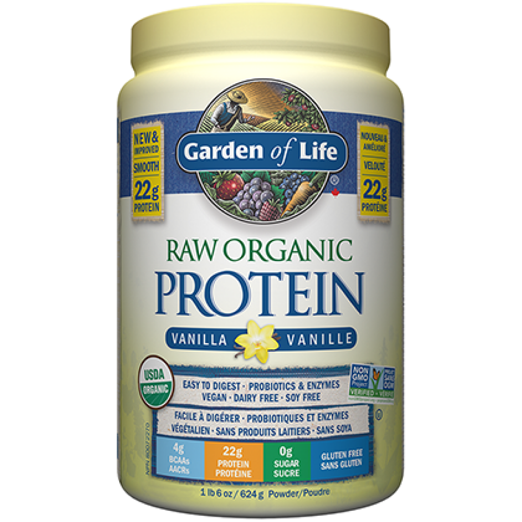 Garden of Life Raw Organic Protein Vanilla Powder