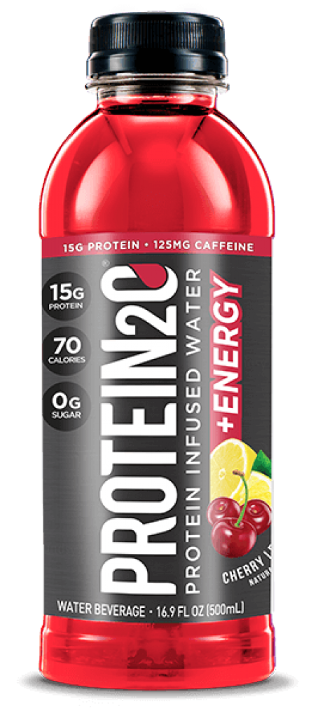 Protein2o + Energy Cherry Lemonade Protein Infused Water