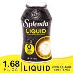 SPLENDA LIQUID Zero Calorie Sweetener drops, 1.68 Ounce