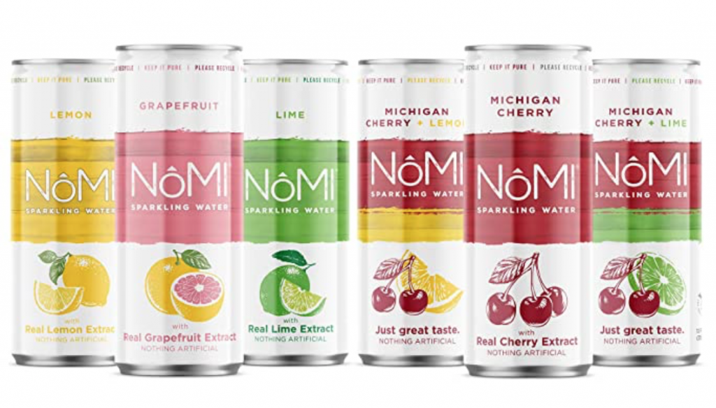 NoMI Citrus Sparkling Water Variety Pack