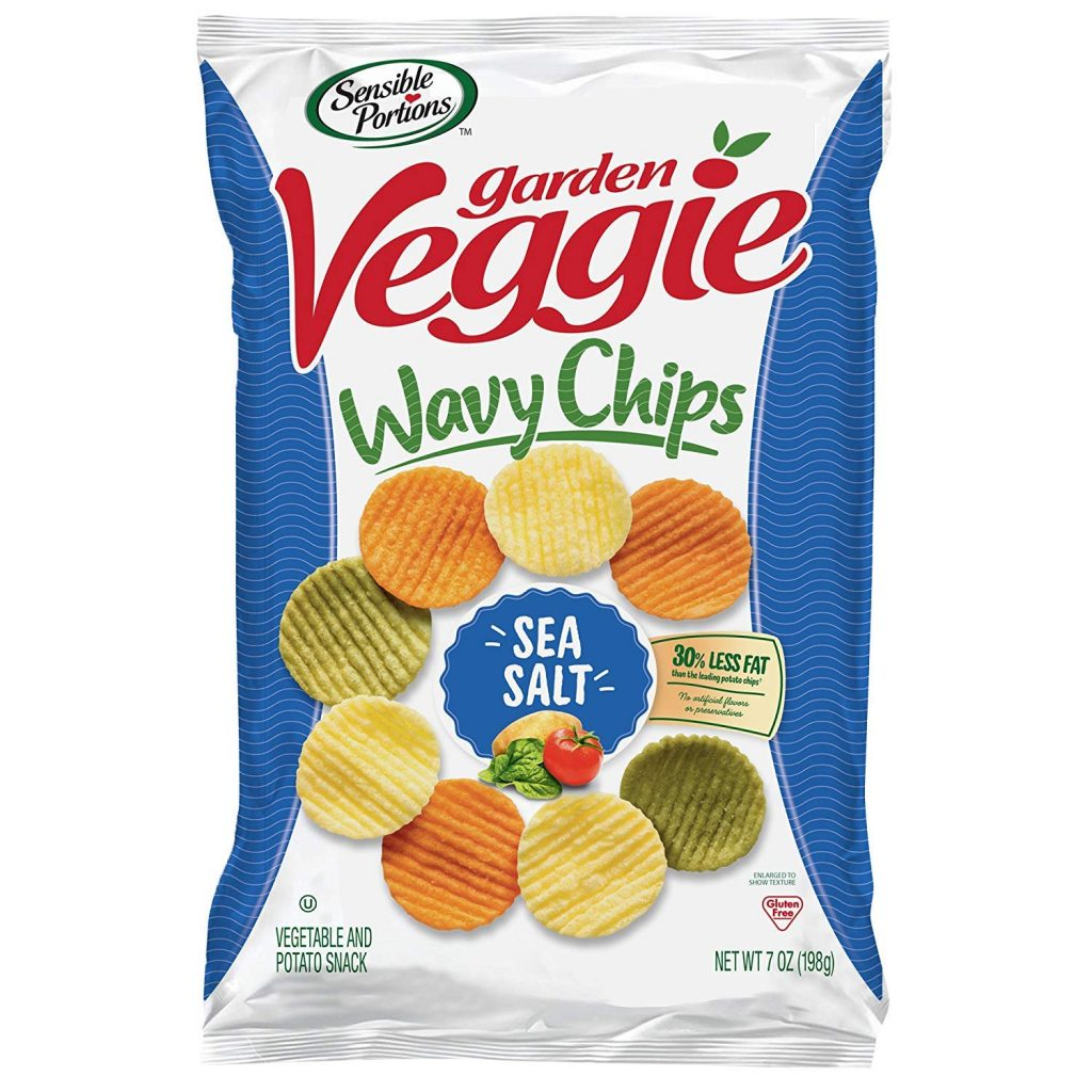 Sensible Portions Garden Veggie Chips, Sea Salt