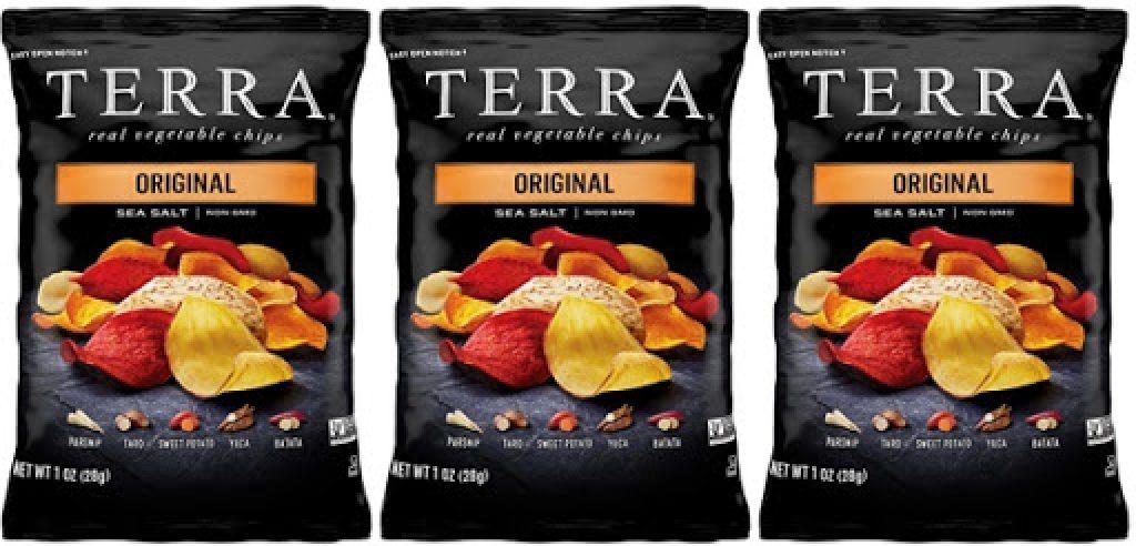 TERRA Original Chips with Sea Salt, 1 oz.