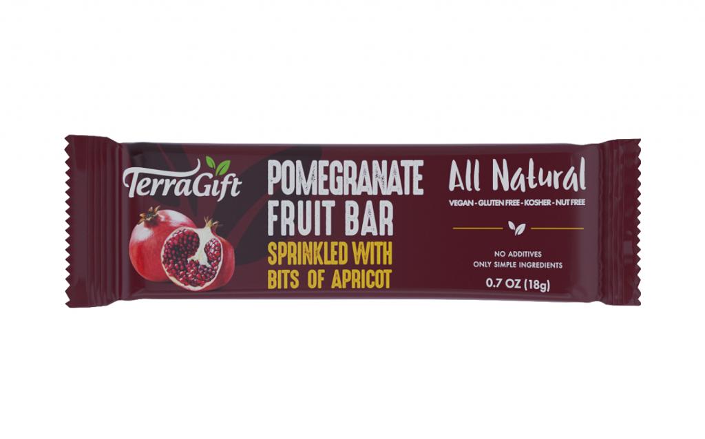 Terra Gift Pomegranate Fruit Bars