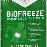 Biofreeze Pain Relief Patch, Large, 10 Patches, for $12.96