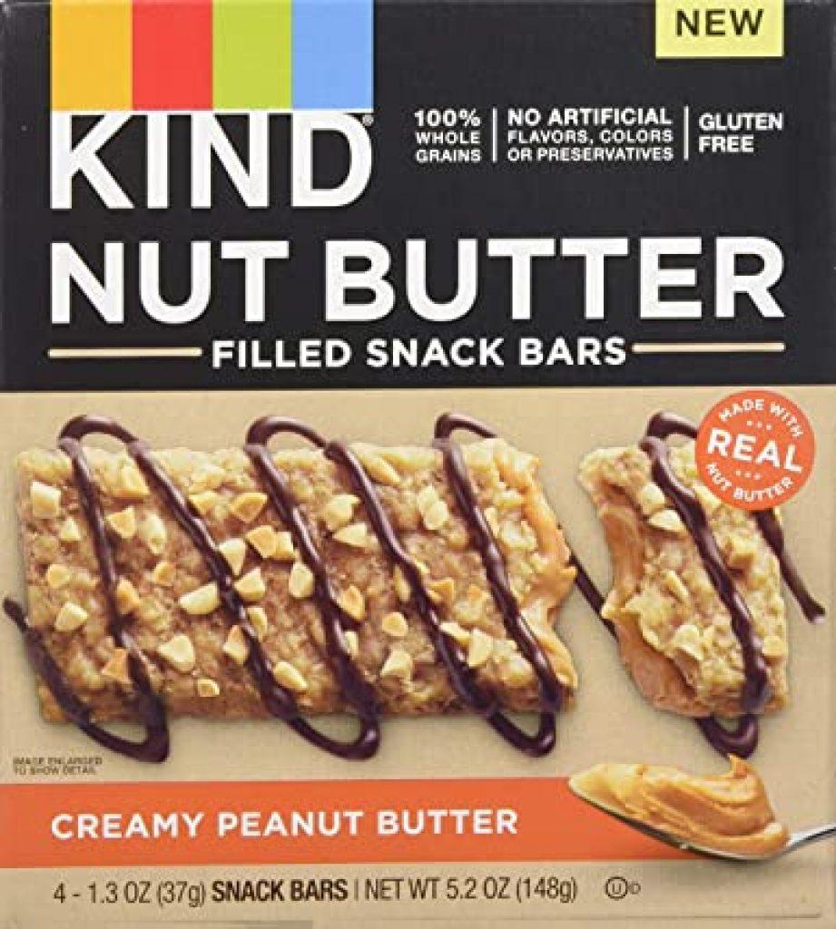 KIND Nut Butter Filled Bars, Creamy Peanut Butter