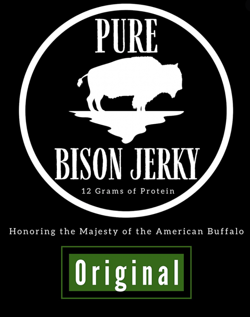 pure bison jerky