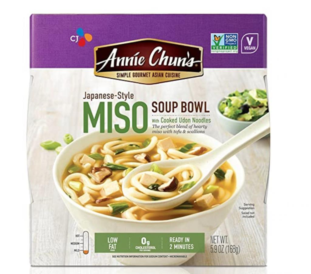 Annie Chun's Miso Soup Noodle Bowl