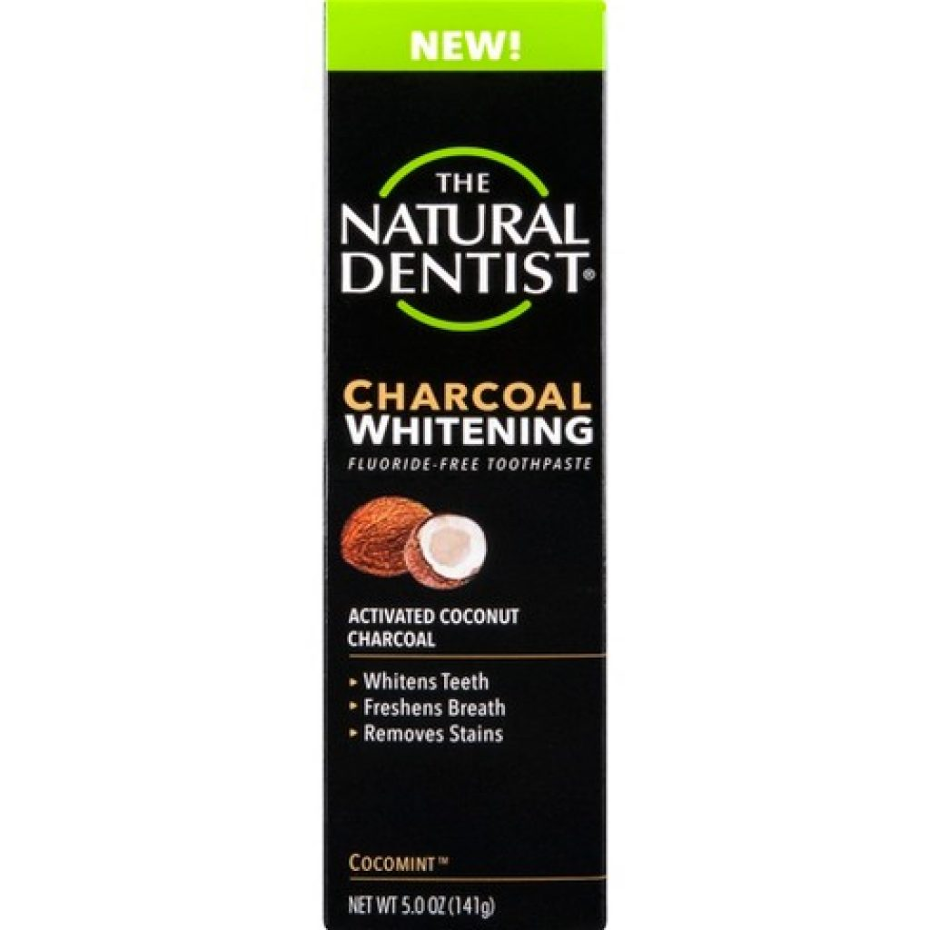 The Natural Dentist Charcoal Whitening Toothpaste