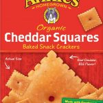 Annie's Organic Cheddar Squares, Baked Cheese Crackers