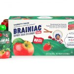 Brainiac Kids Omega-3 Applesauce Pouches Variety 10 Pack