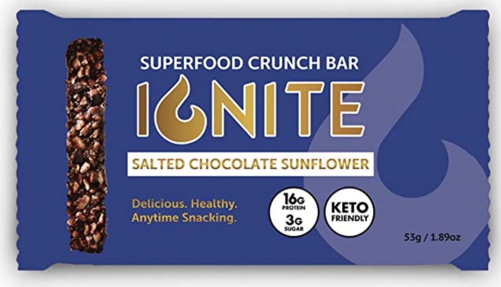 Ignite Superfood Salted Chocolate Sunflower