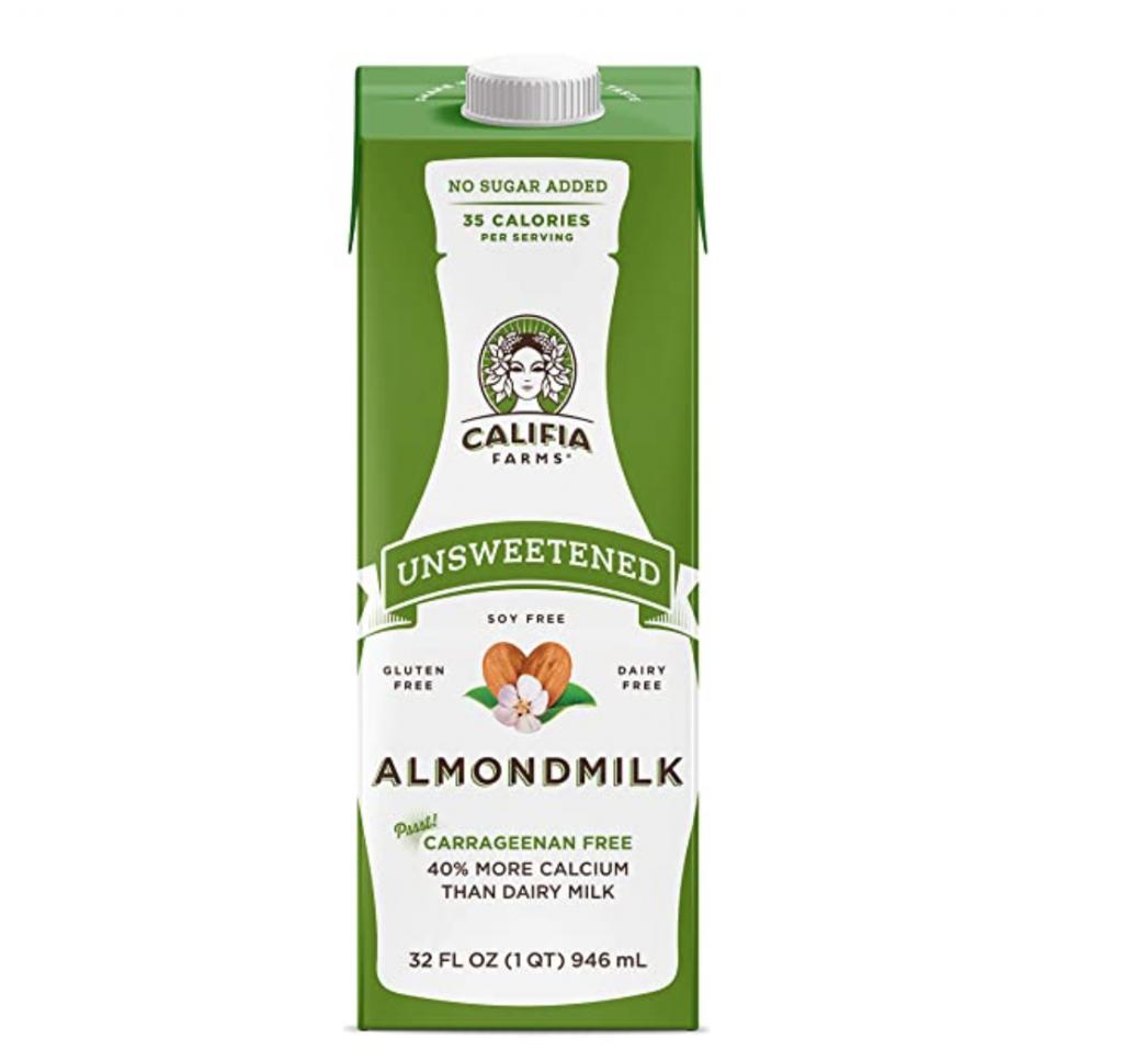 Califia Farms - Shelf Stable Almond Milk, Unsweetened