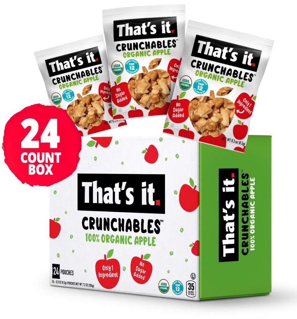 That's It. Organic Apple Crunchables