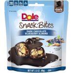 DOLE SNACK BITES Dark Chocolate Blueberry Almond