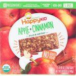 Happy Kid Organic Fruit & Oat Bar Apple Cinnamon