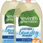 Seventh Generation Laundry Detergent, Ultra Concentrated EasyDose, Free & Clear