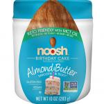 NOOSH Birthday Cake Almond Butter Jar