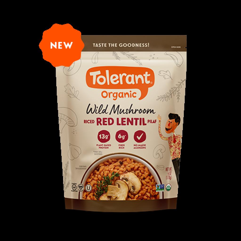 Tolerant Organic Wild Mushroom Red Lentil