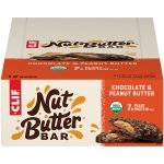CLIF Nut Butter Bar - Organic Snack Bars - Chocolate Peanut Butter