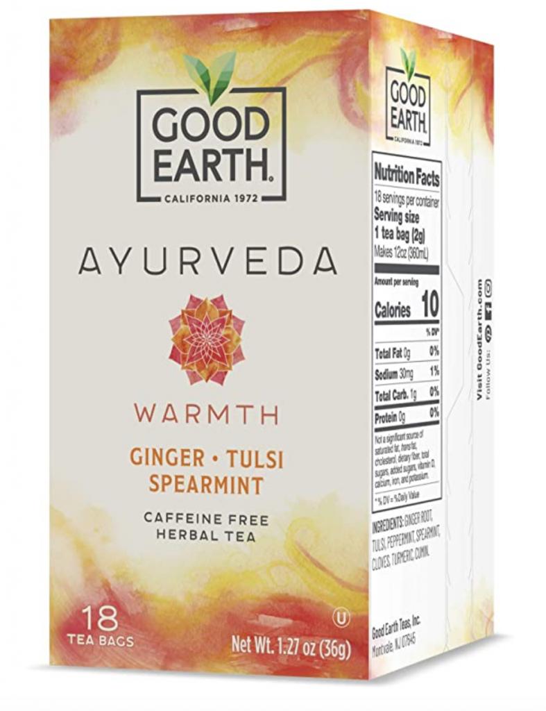 Good Earth Ayurveda Warmth Tea