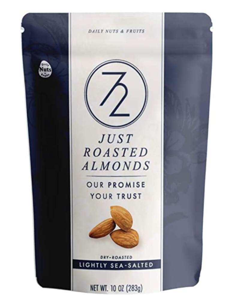72 Just Roasted Almonds