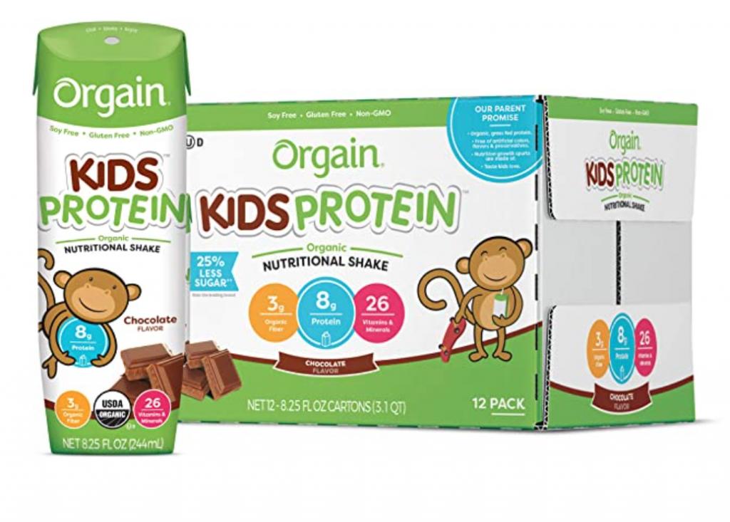 Orgain Organic Kids Chocolate Protein Shake