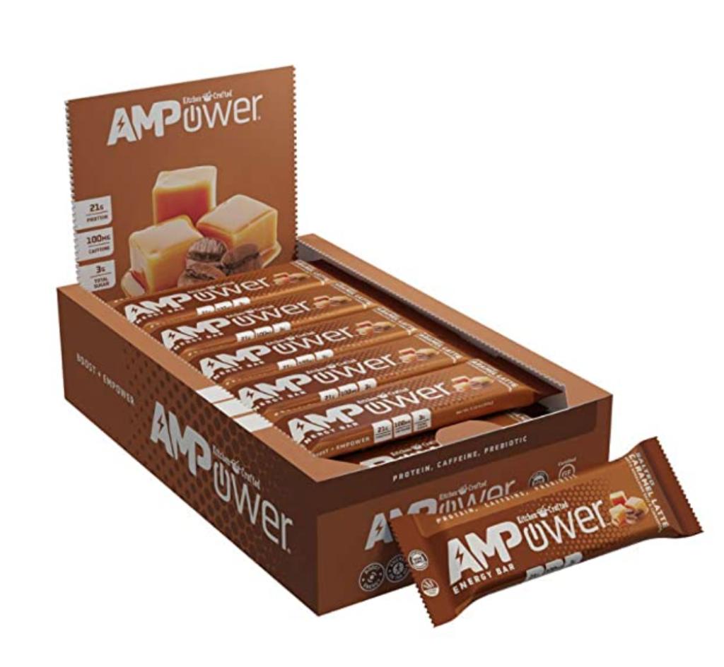 AMP energy bars